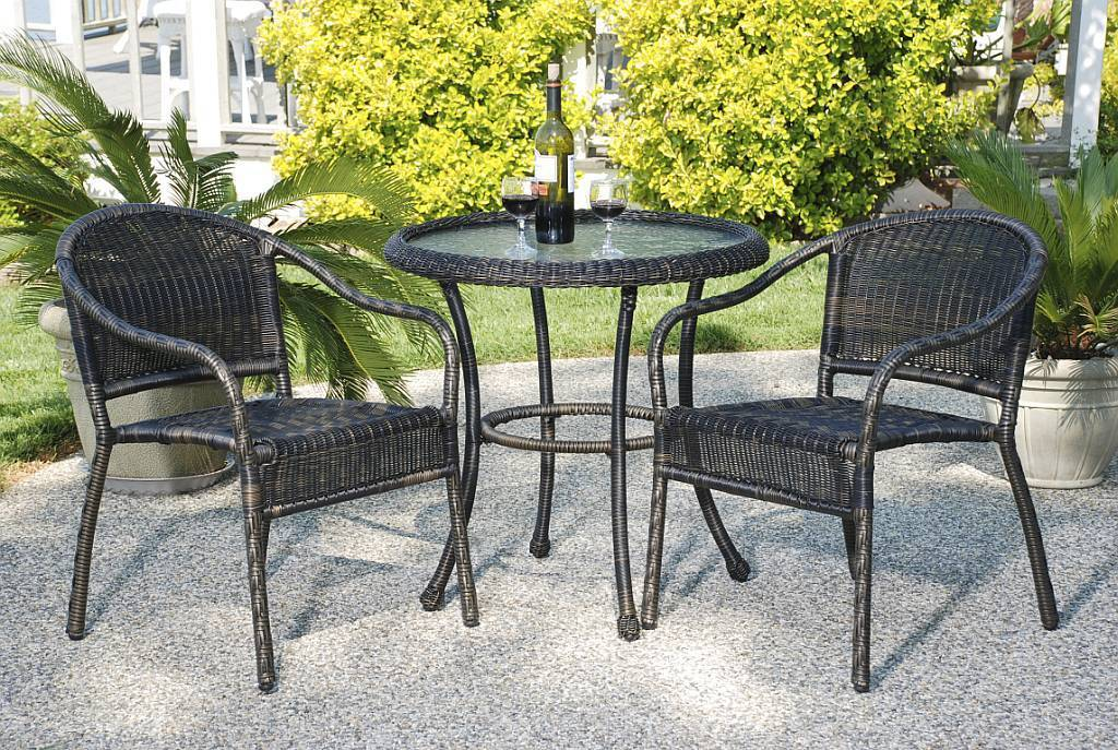 Harbor Resin Wicker Bistro Set - CDI-128-S/4
