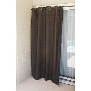 Dark Linen Curtain