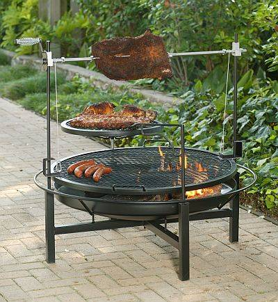 Fire Pit Grilling Design Ideas, Pictures, Remodel and Decor