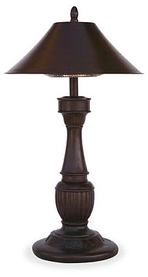 Endless Summer Northgate Tabletop Lamp Electric Patio