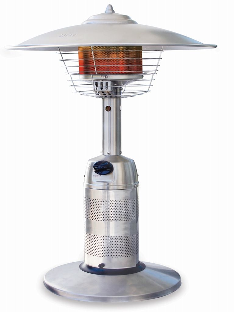 Round Stainless Steel Table Top Patio Heater Gwt801a
