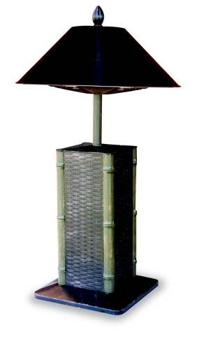 Elegant Sumatra Tabletop Lamp Style Electric Patio Heater